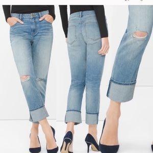 "WHBM ""The boyfriend"" jeans"